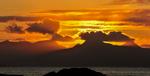Sunset at Arisaig, Scotland
