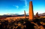 Bronze Age stone circleNikon F5, 17-35mm, Fuji Provia 400