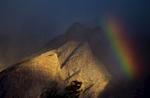 Rainbow over Askole village
