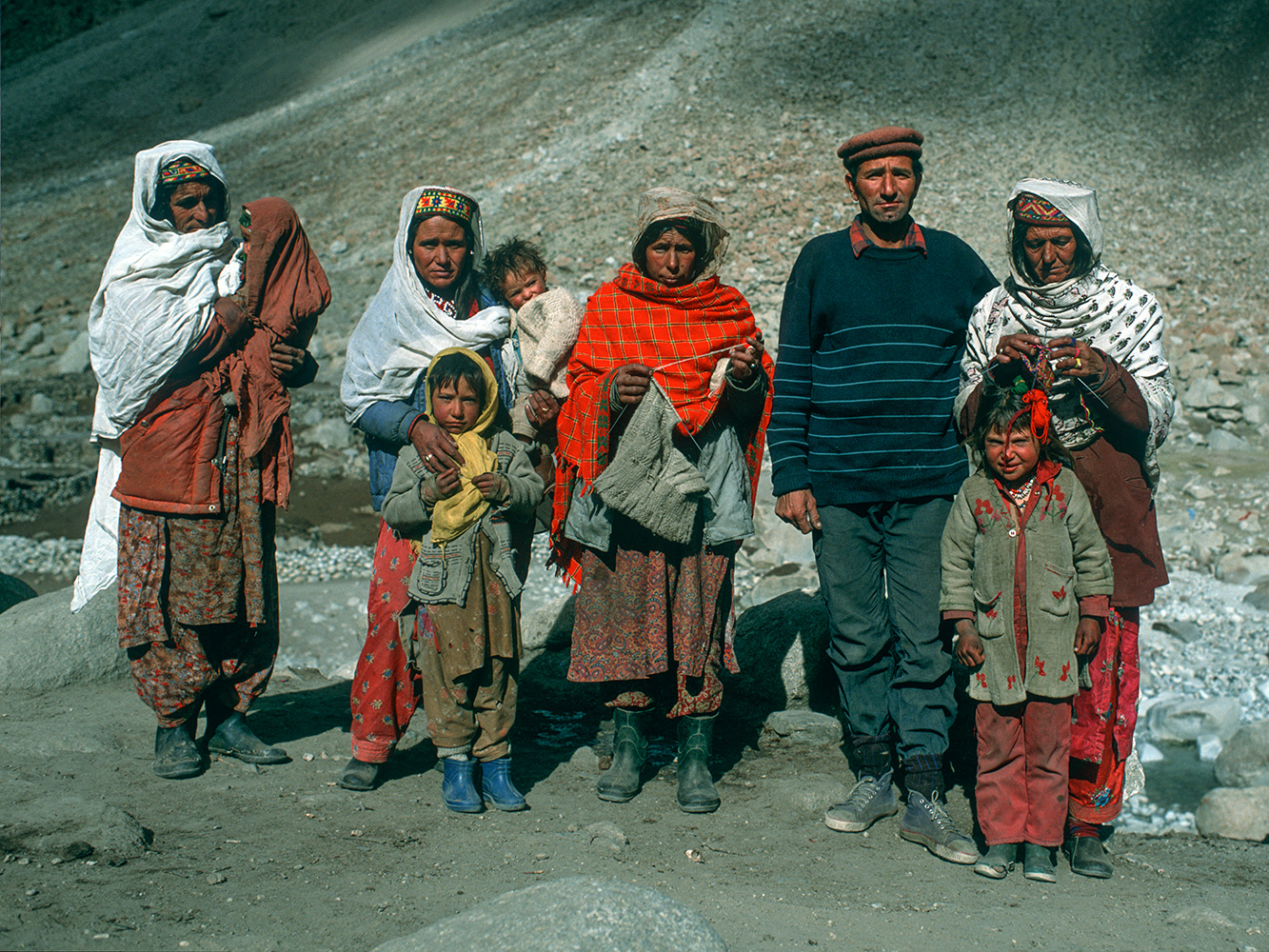 At Shuwert, on the Shimshal Pass