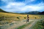 Mountain biking in the Tien Shan range, Central AsiaNikon FM2, 24mm, Fuji Velvia