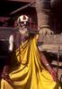 A saddhu (holy man) in Durbar Square, BakhtapurNikon FM2, 24mm, Fuji Velvia
