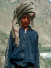 Portrait of a village boy