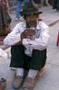A Tibetan shopfitter taking a breakNikon FM2, 50mm, Fuji Velvia