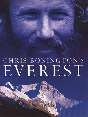 Everest from the Rongbuk Glacier in TibetFront cover of the public face of British mountaineering's latest book. Published by Weidenfield & Nicholson in 2002Bronica ETRS, 150mm, Fuji Velvia