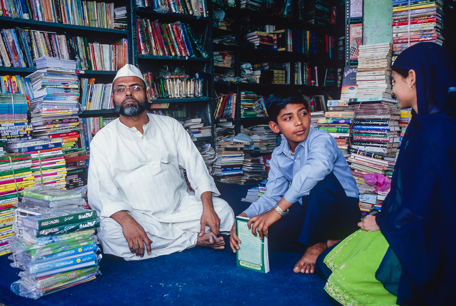 Urdu Bookseller, Old Delhi