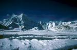 Seen from the upper Braldu Glacier, ShimshalCanon A1, 28mm