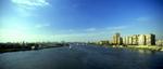 The cty and the River Nile, from El Giza bridgeNikon F5, 17-35mm, Fuji Velvia 100