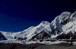 From the Baltoro glacier above Concordia