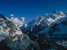 Camp at Dalsan on the Gondokoro Glacier