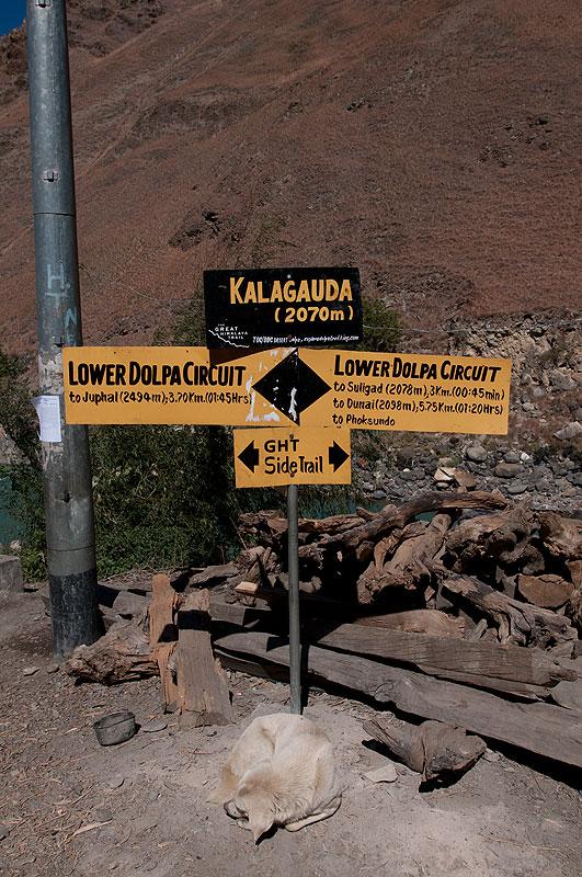 At Suligad, below Juphal