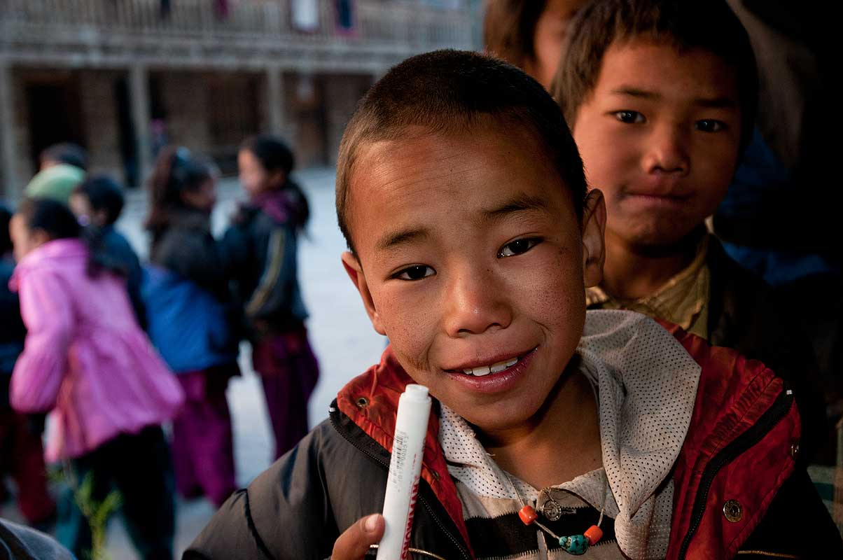 Kids at this school in the Suli Gaad valley, which is partly financed by Tapriza Projects, Switzerland, and by the Friends of Dolpo in the USA