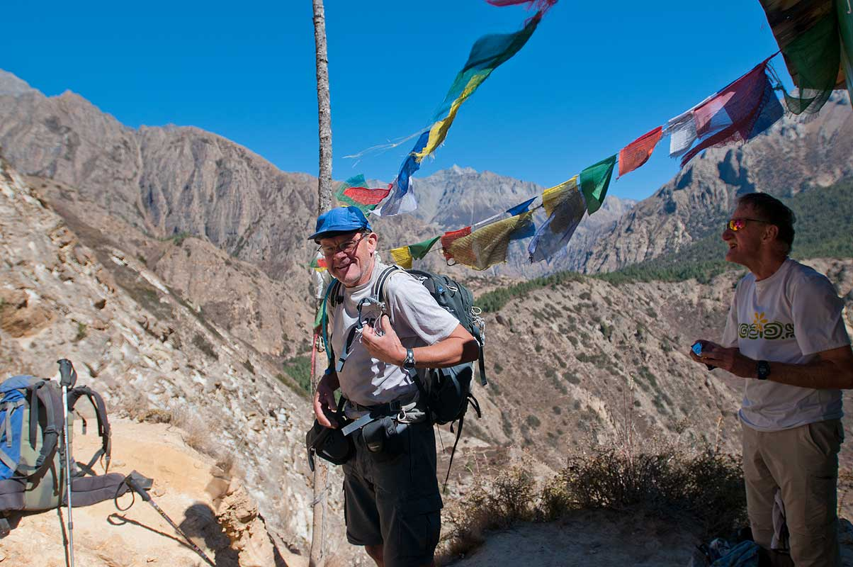 On the trail to Ringmo, Dolpo