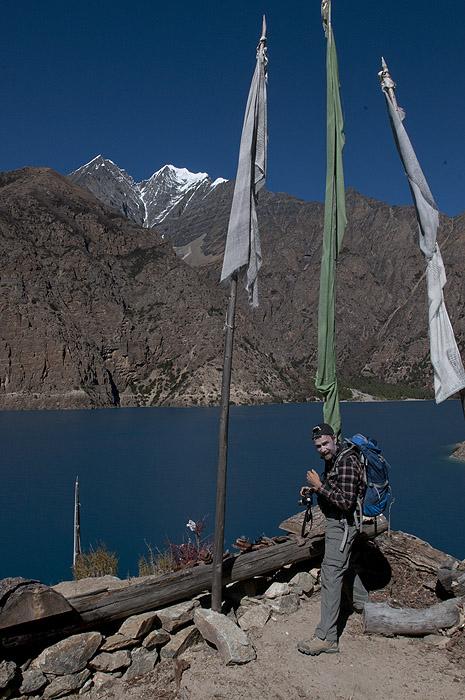 Phoksundo Tal from Ringmo Gompa, Dolpo