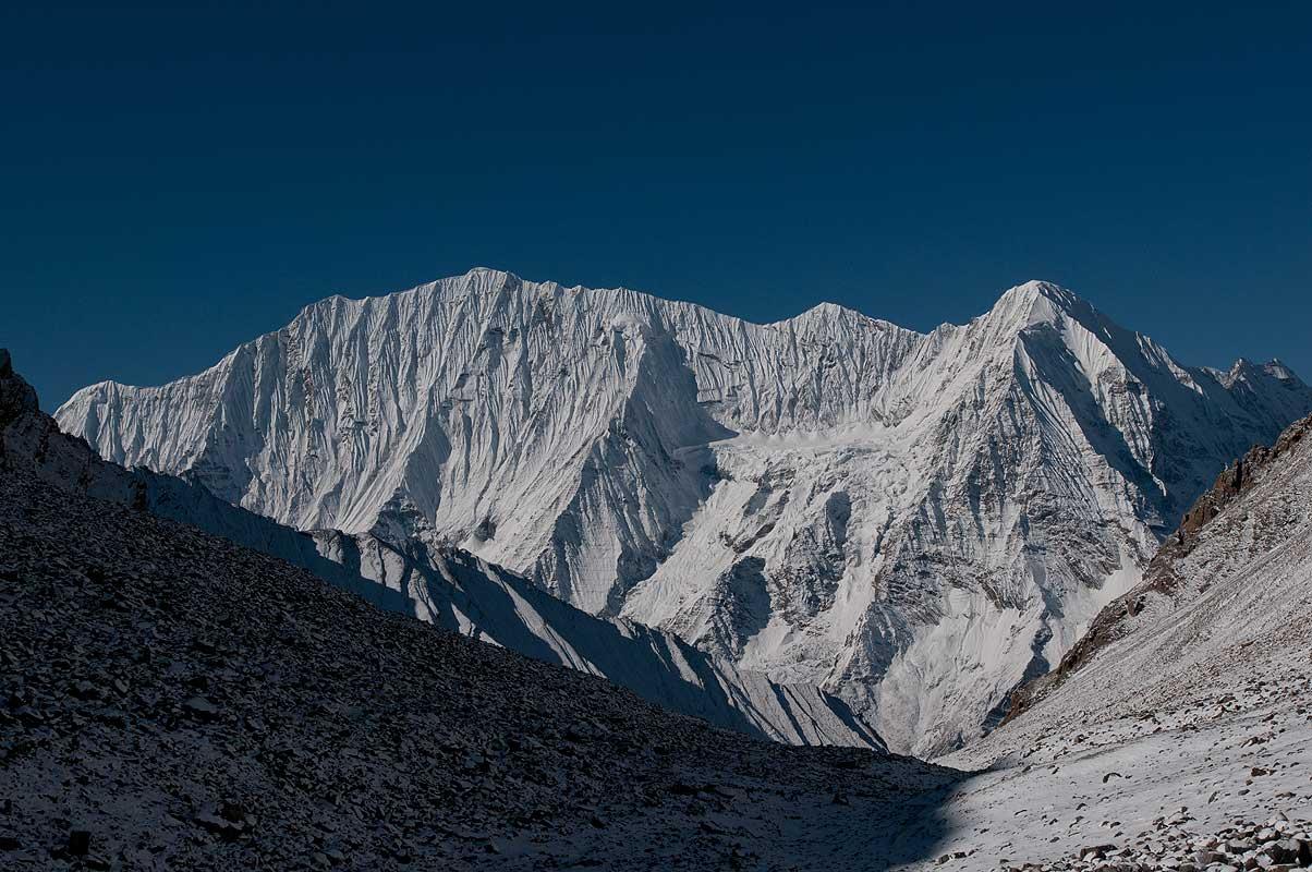 Kanjiroba (6883m) from the Kang La