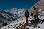 With Kanjiroba (6883m) beyond