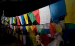 Prayer Flags at Shey Gompa