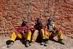 Members of my crew enjoying a day's rest at Shey Gompah