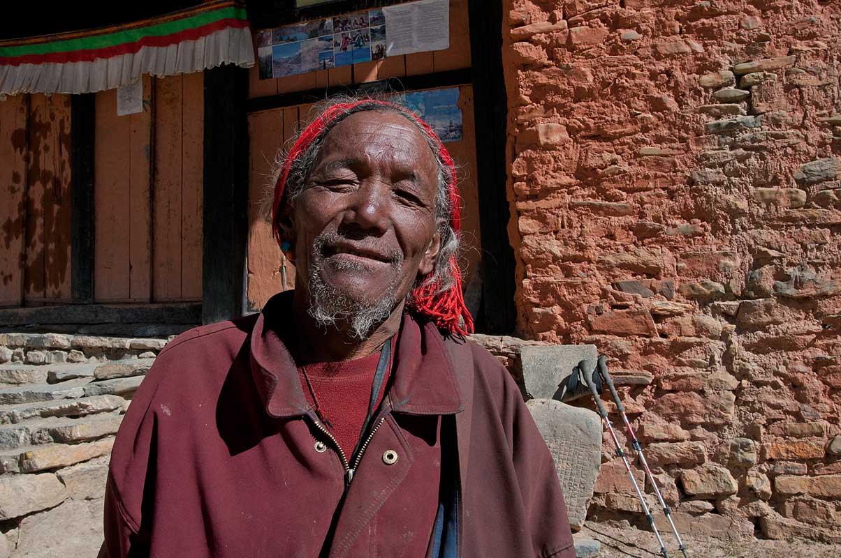 Monk at Shey Gompa, Dolpo