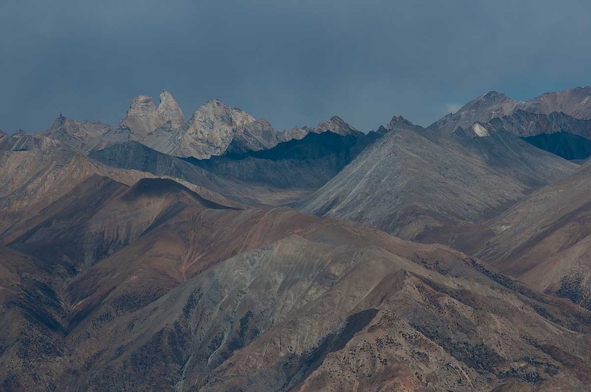 Peaks north of Saldang, Dolpo