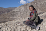 A young girl from Saldangvillage