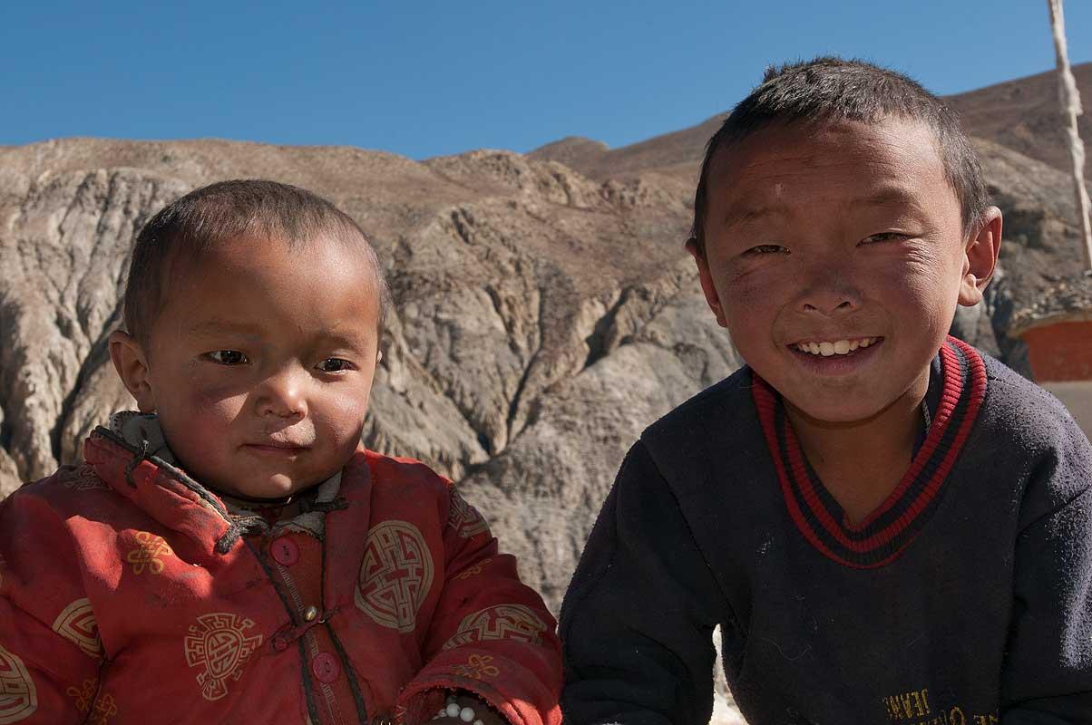 Children at the vilage