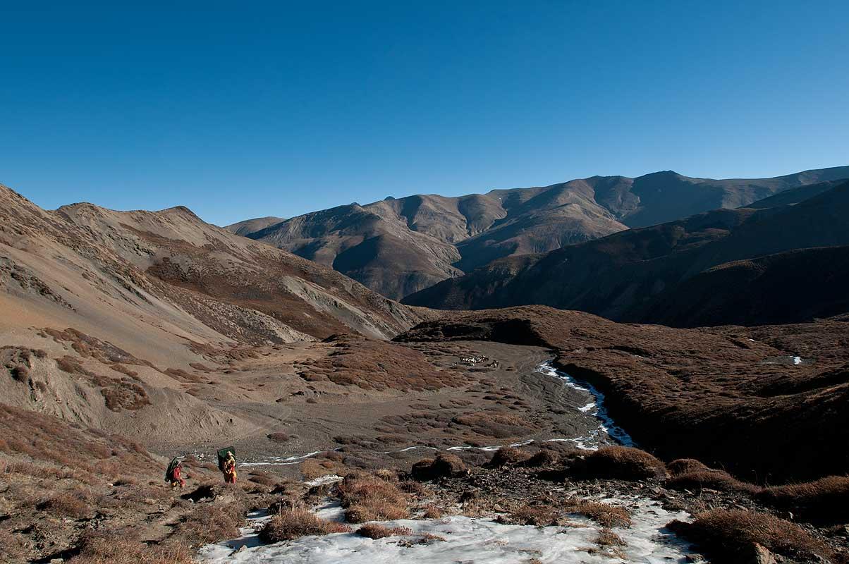 The high pass (5110m) between Saldang and Dho Tarap