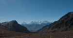 From the crest of the Jeng La, 5110m, high point of the route between Saldang and Dho Tarap, Dolpo
