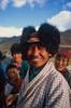 My Bhutanese sirdar sporting the Thanza hat given to him on our visit to LunanaNikon FM2, 50mm, Fuji Velvia