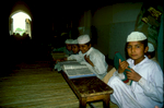 Young boys at the Koranic school in the Eid Gah masjid, MultanCanon EOS 500, 28mm, Fuji Velvia