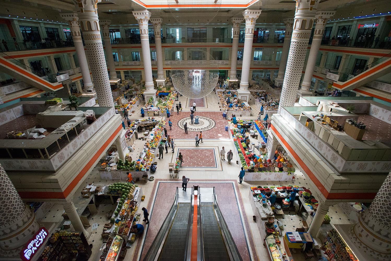 Dushanbe Market Hall