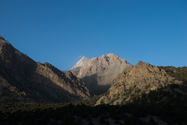 Sarykhodan Peaks