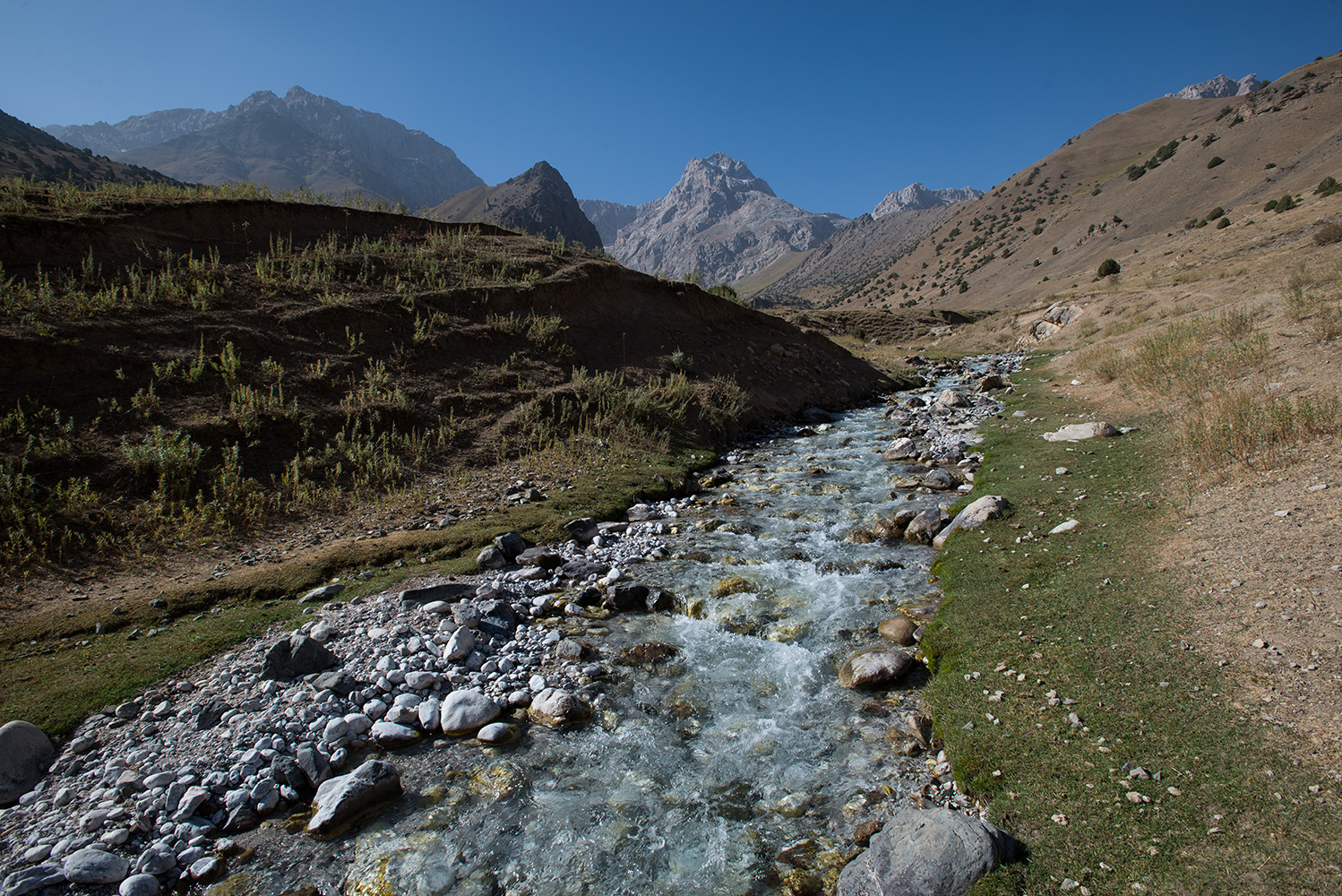 A tributary valley to the upper Archamaidan.