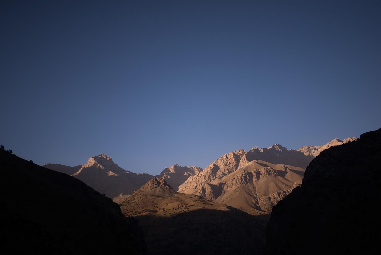 Sunset at Akhmat