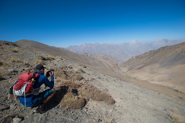 On the Akhmat Pass (3400m)