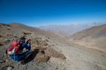 On the Akhmat Pass (3400m)