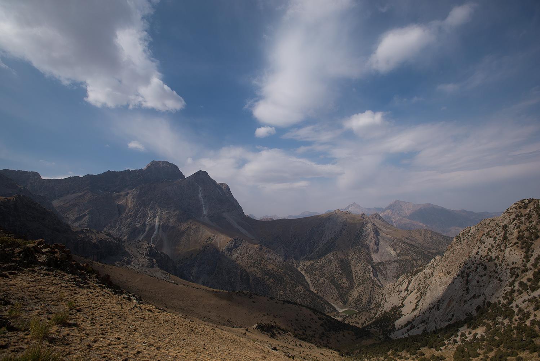 From the Chukurak Pass