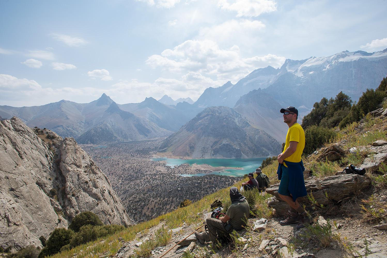 Kulikalon Lakes from the Chukurak Pass
