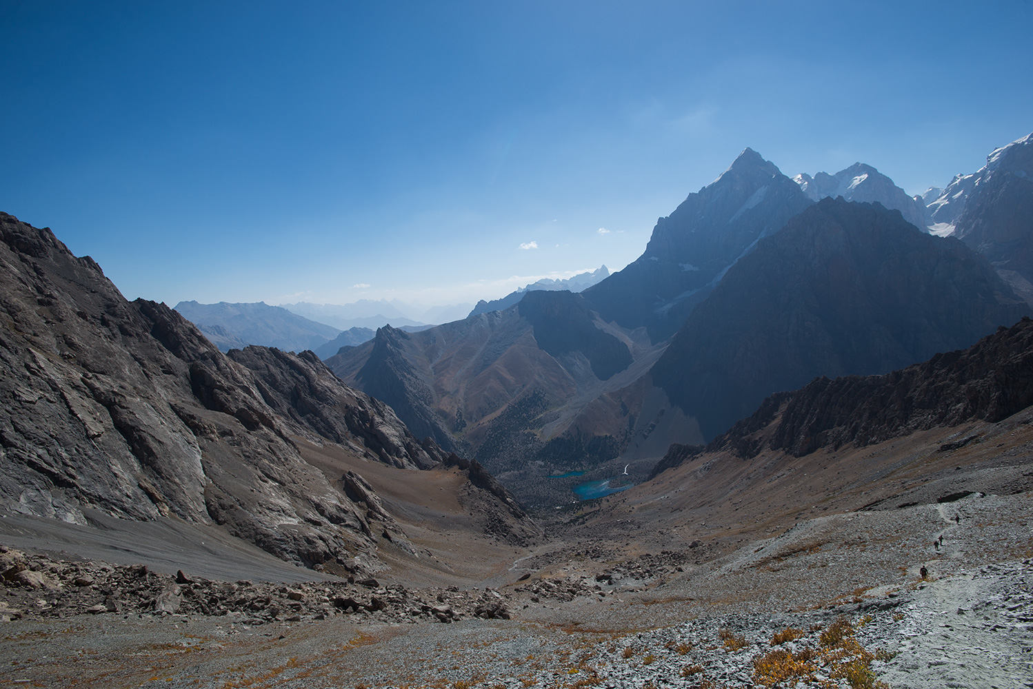 From the Alaudin Pass