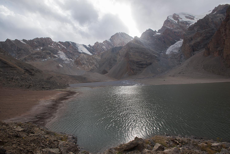 Mutnyi Lake - altitude 3520m