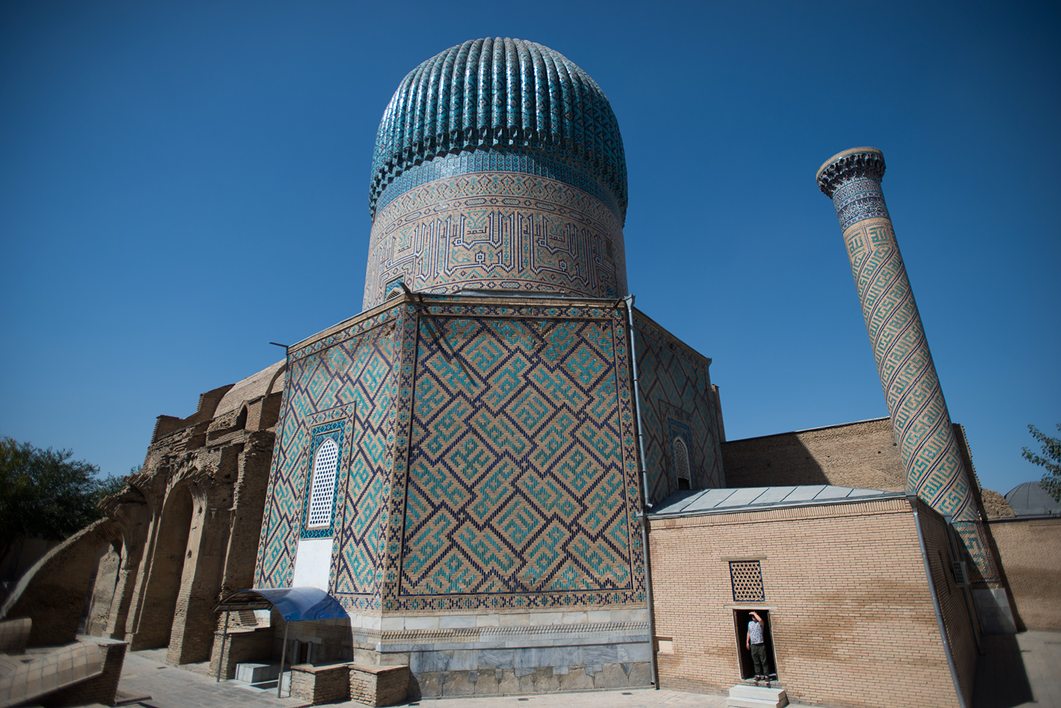The Mausoleum of the Emir Timur