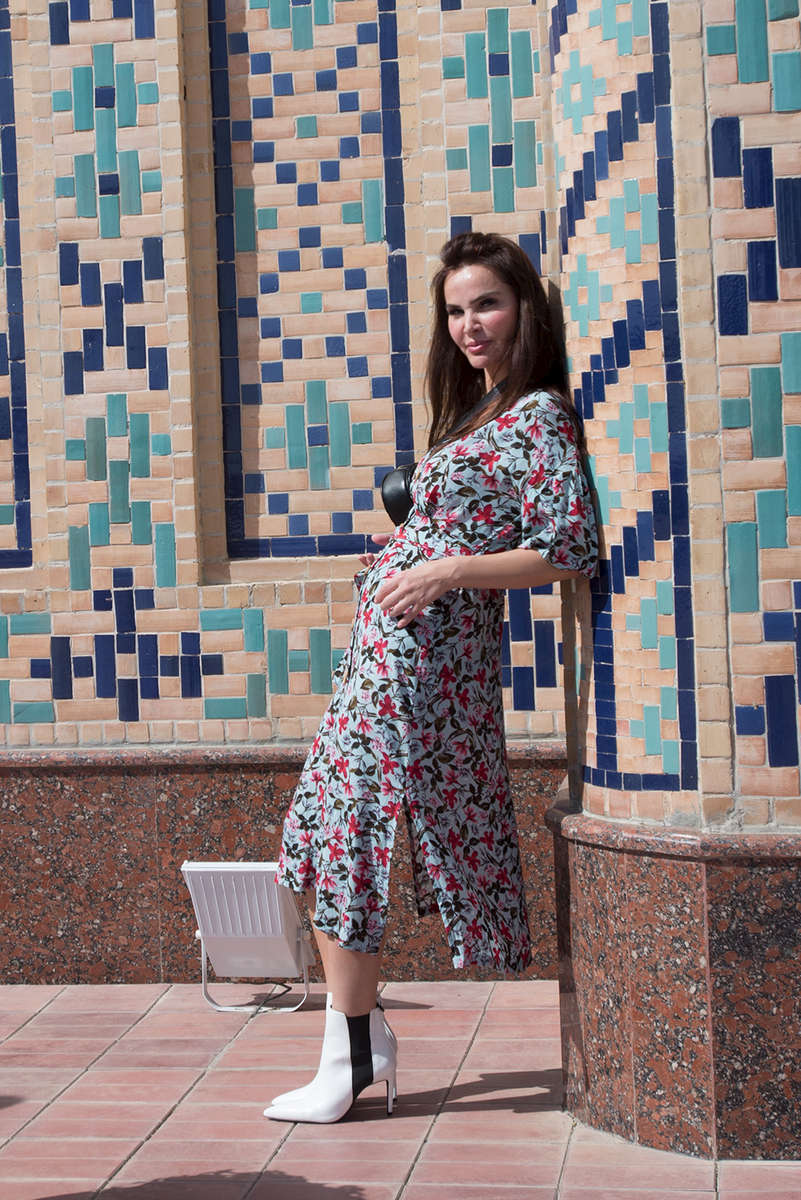 Outside the observatory museum, Samarkand