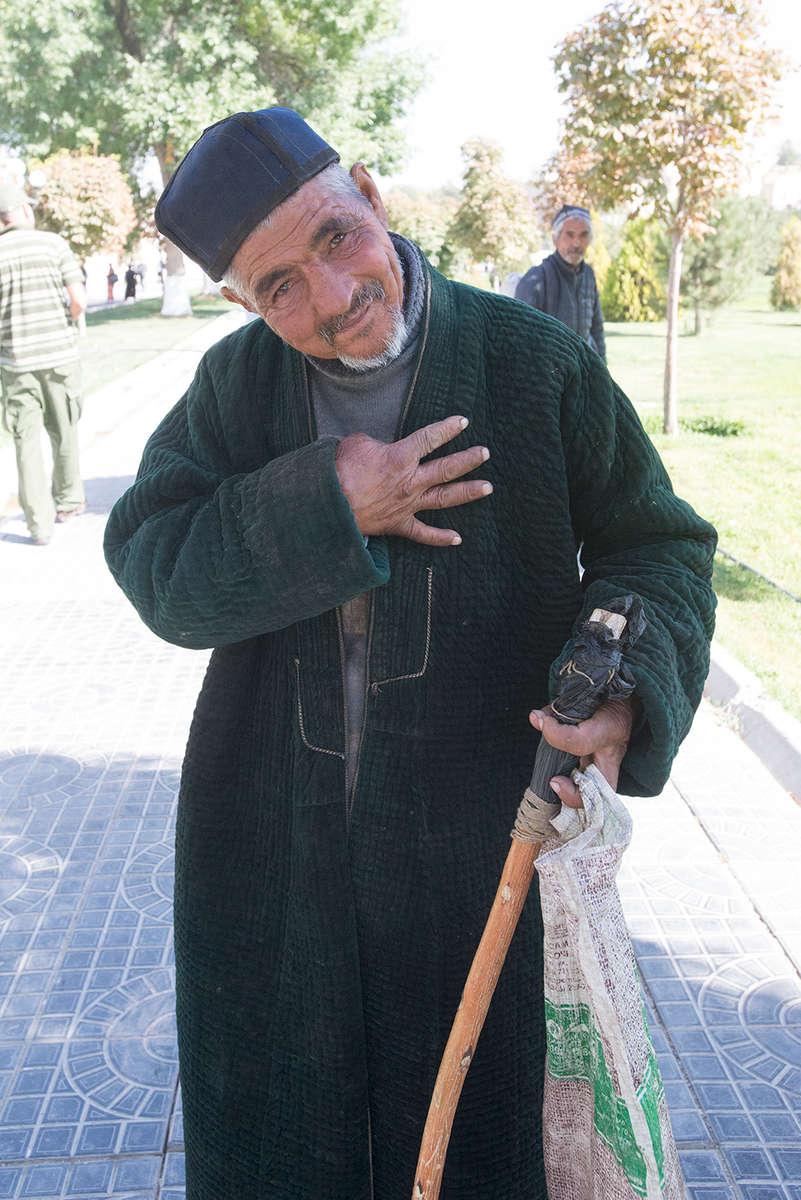 A gentleman of Samarkand