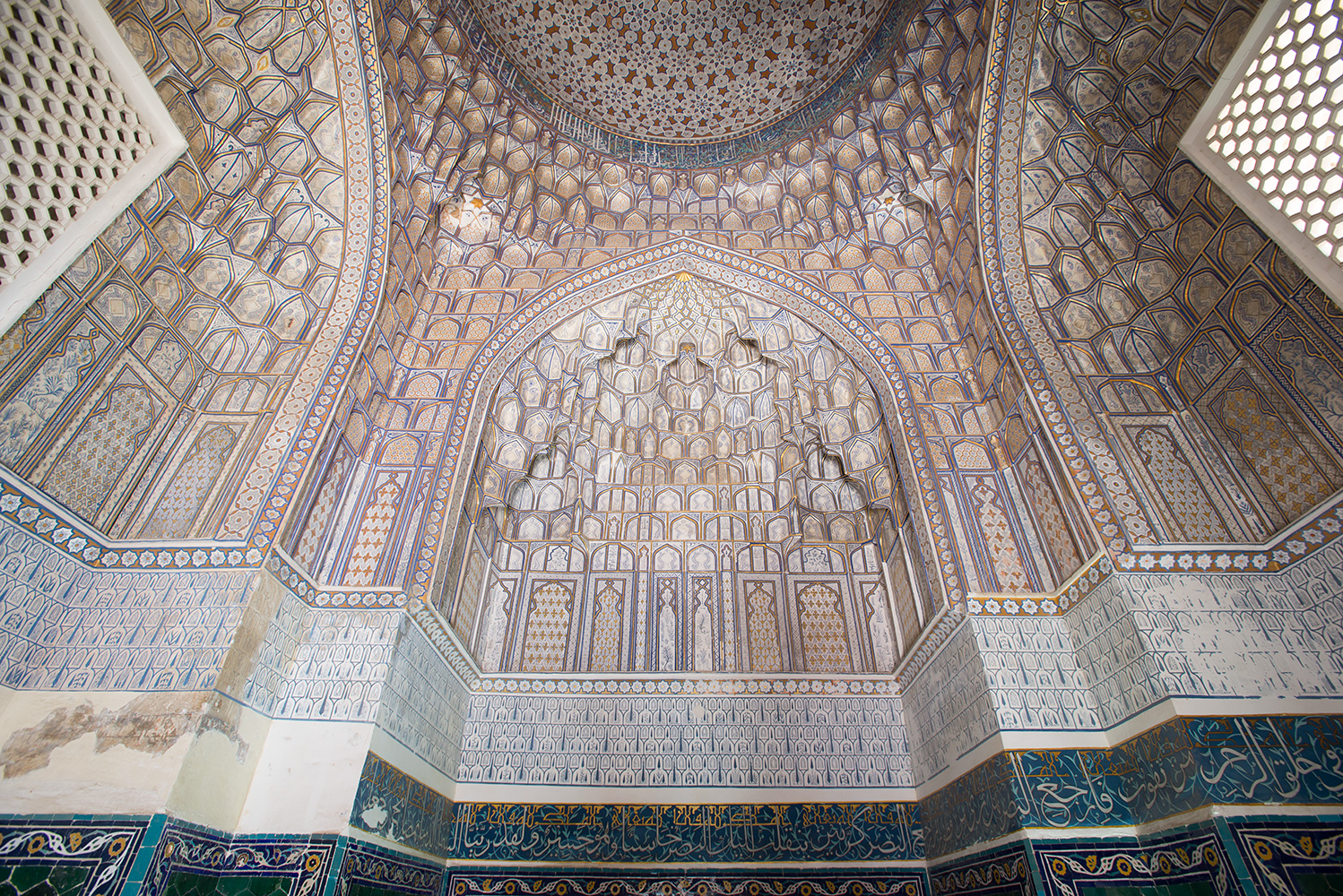 The mausoleum of Emir Timur's favourite wife, Tuman AkaBuilt in 1405