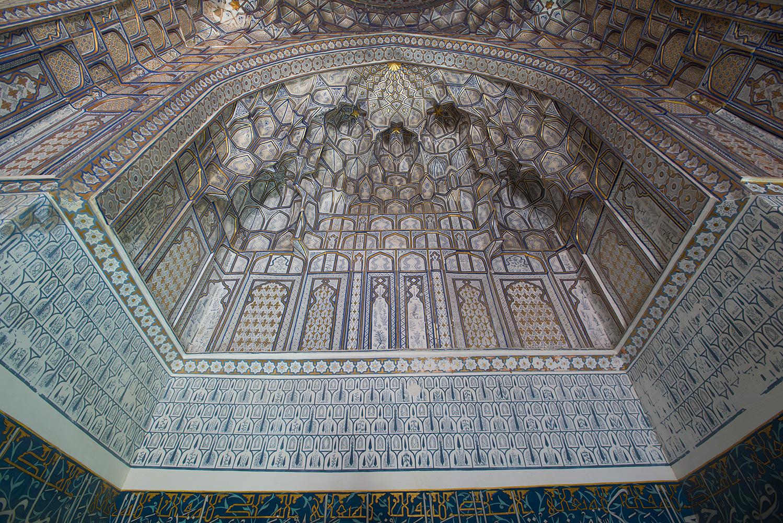 The mausoleum of Tuman Aka, 1405