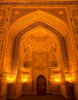 The mihrab at night