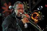 Leader of the James Brown (JB) Horns