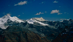 The highest unclimbed peak on earth, seen from a 5400m top near the Gophu La, BhutanBronica ETRSi, 75mm, Fuji Velvia