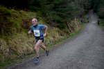 This short (4km / 2.5 mile) but brutal fell race starts from Revelin Moss in Whinlatter Forest Park, near Keswick, Cumbria. This is Phil Pearson of Northern Fells Running club nearing the finish.