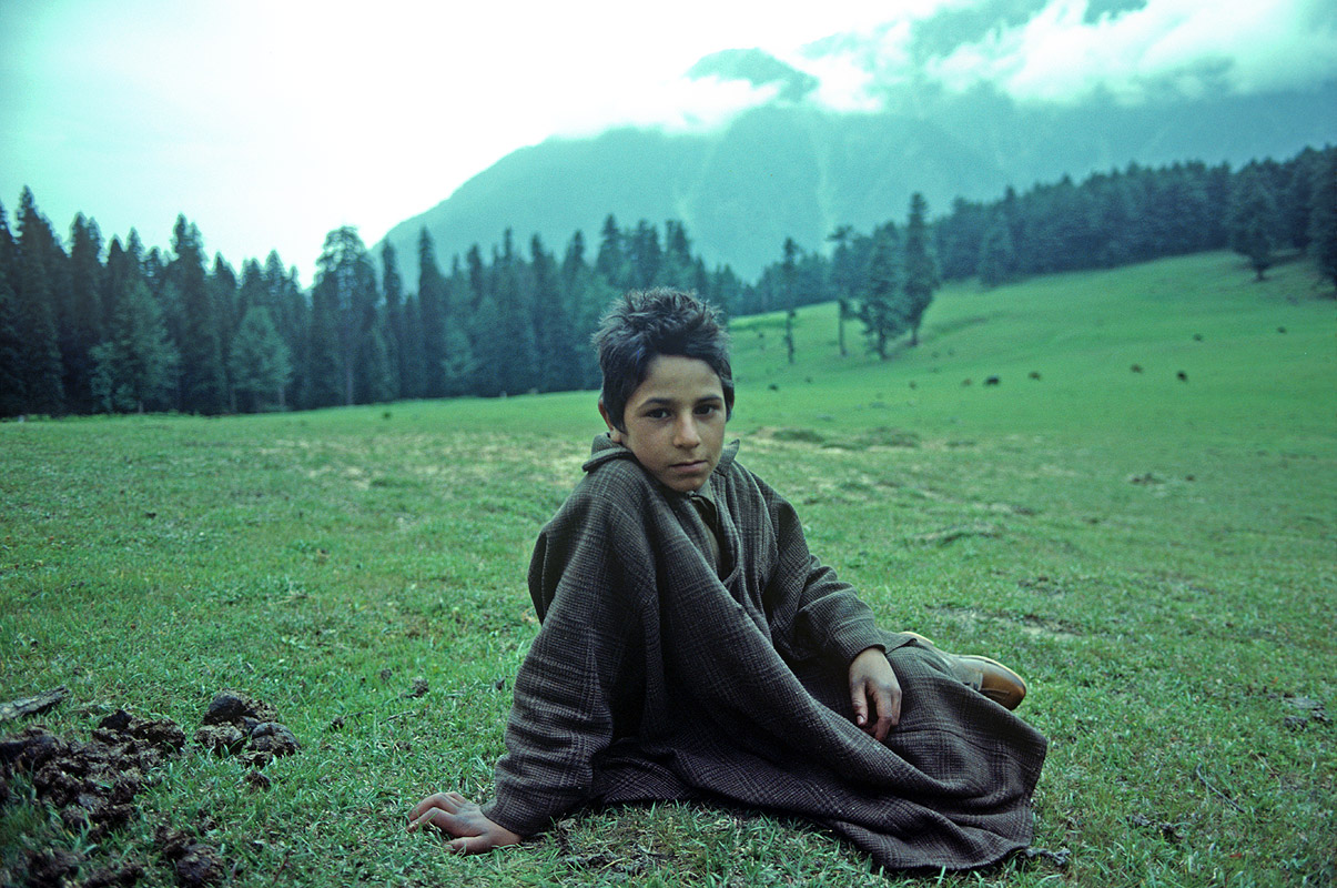 At Lidderwat, KashmirCanon A1, 50mm, Kodachrome 64